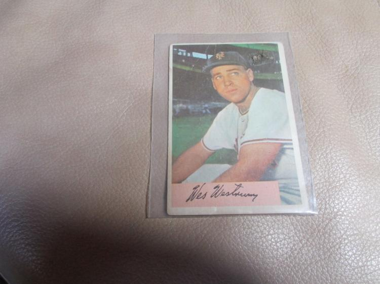 Wes Westrum card #25