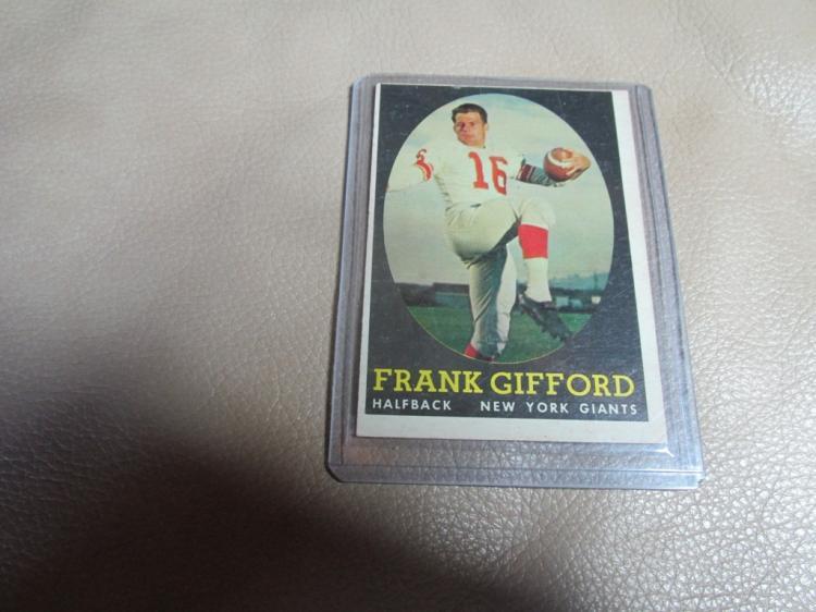 Frank Gifford card #73