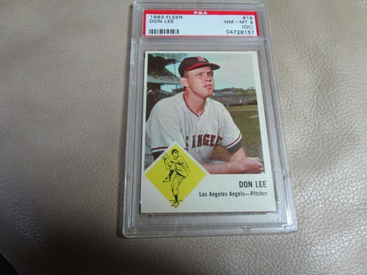 Don Lee card #18