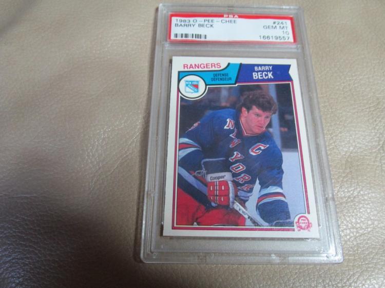 Barry Beck card #241