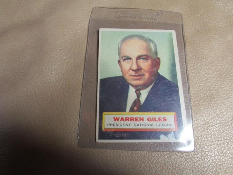 Warren Giles card #2