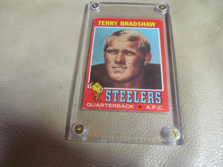 Terry Bradshaw rookie card #156