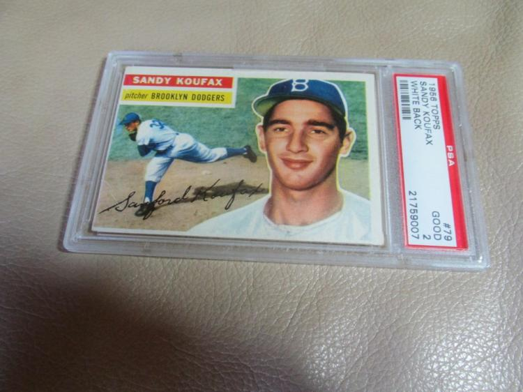 1956 Sandy Koufax card #79