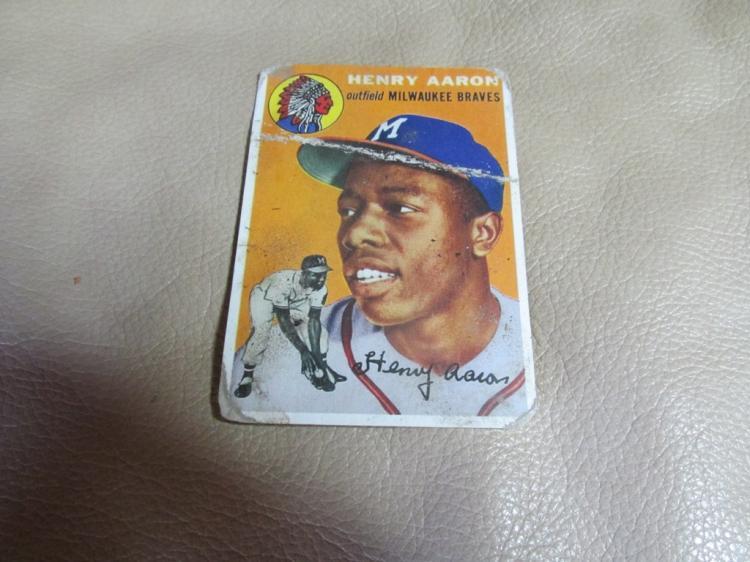 Hank Aaron card #128