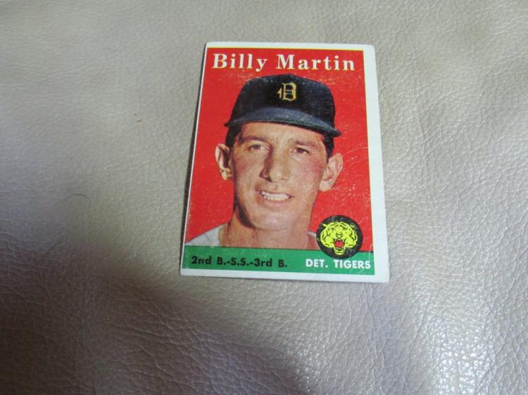 Billy Martin card #271