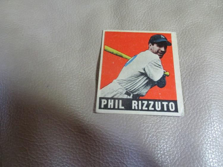 1948 Phil Rizzuto rookie card #11