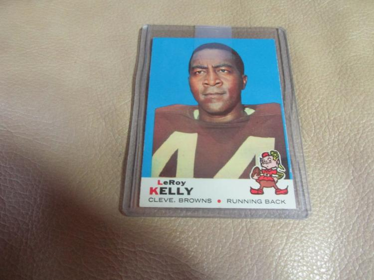 Leroy Kelly card #1
