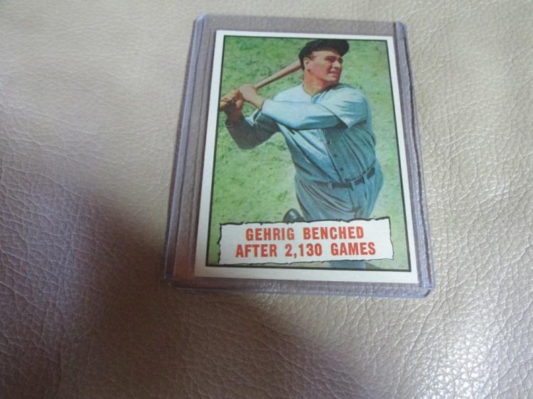 Lou Gehrig card #405