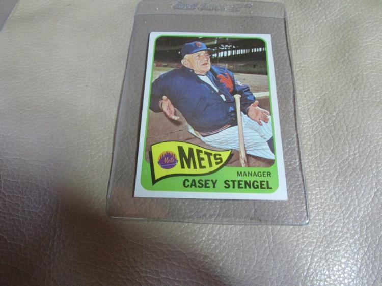 Casey Stengel card #187