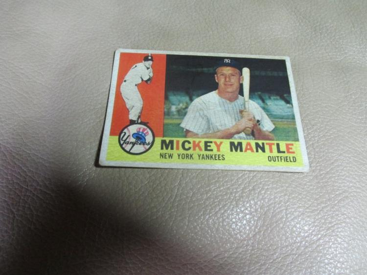 Mickey Mantle card #350