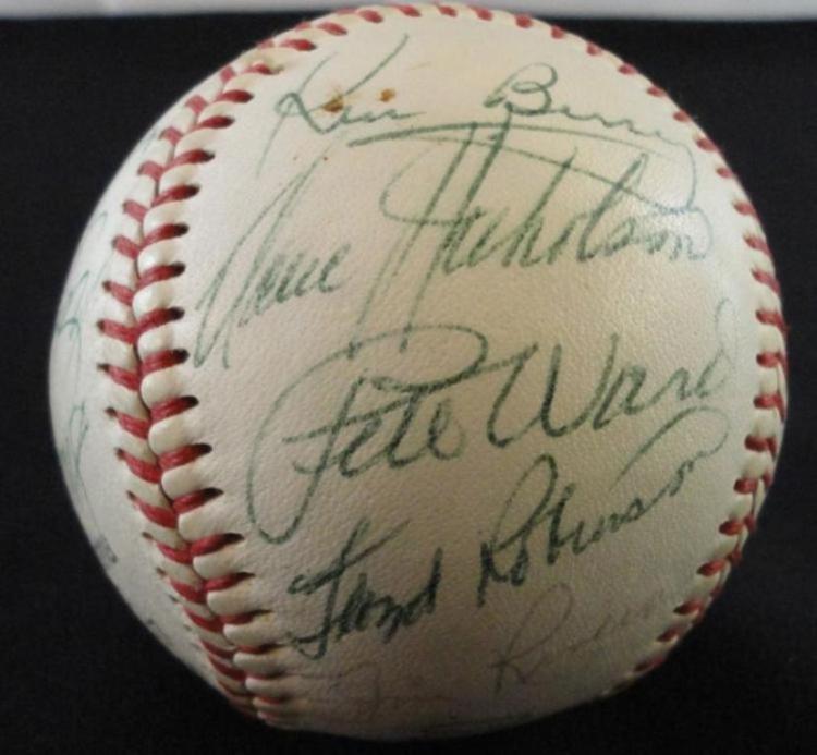 1965 Chicago Whitesox signed baseball