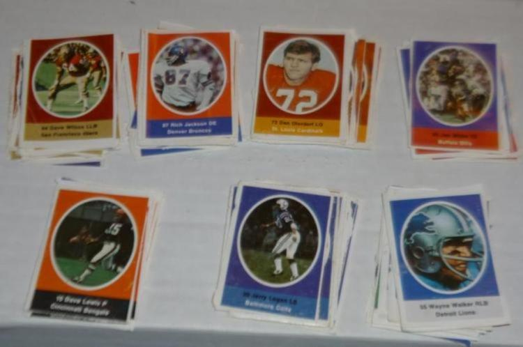 1970 Sunoco football stamps