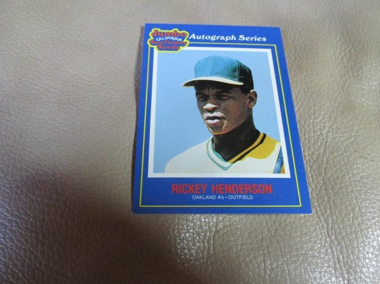 Rickey Henderson card #13