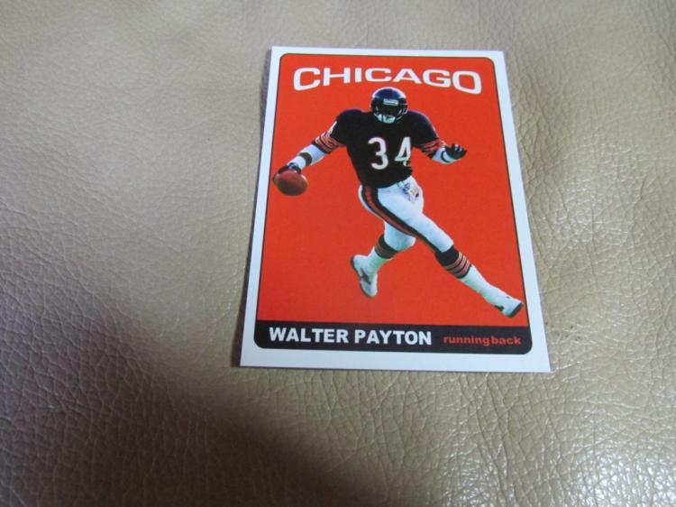 Walter Payton card #34