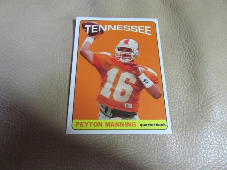 Peyton Manning Tennessee card #16