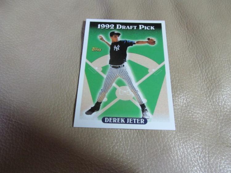 Derek Jeter  rookie card #98