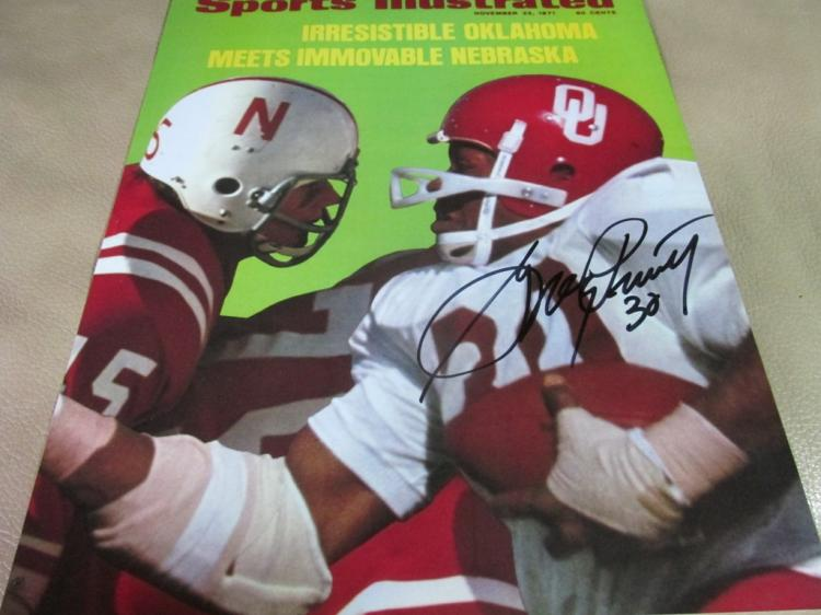 Greg Pruitt autographed photo