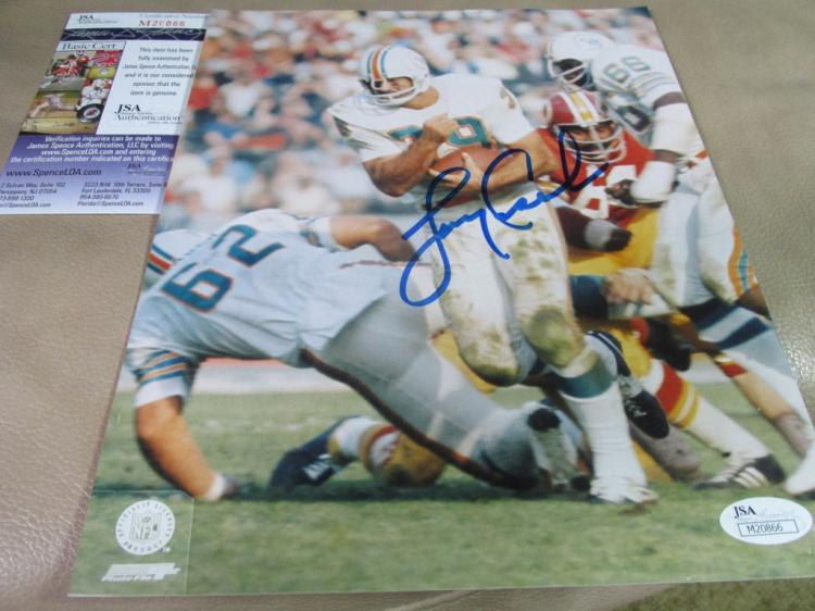 Larry Csonka autographed photo