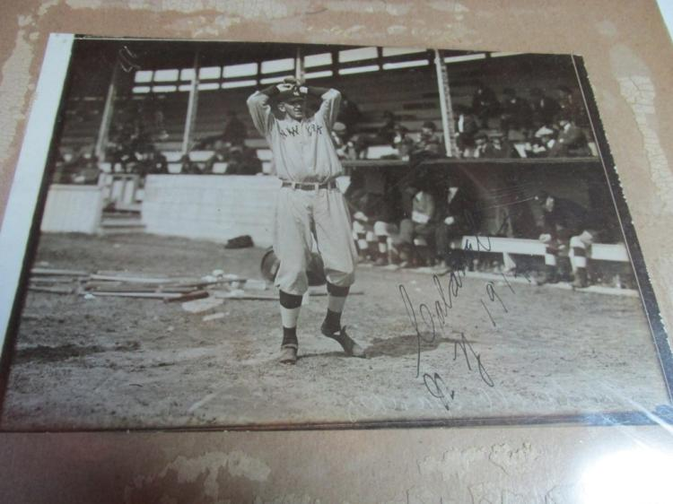 Ray Caldwell autographed photo