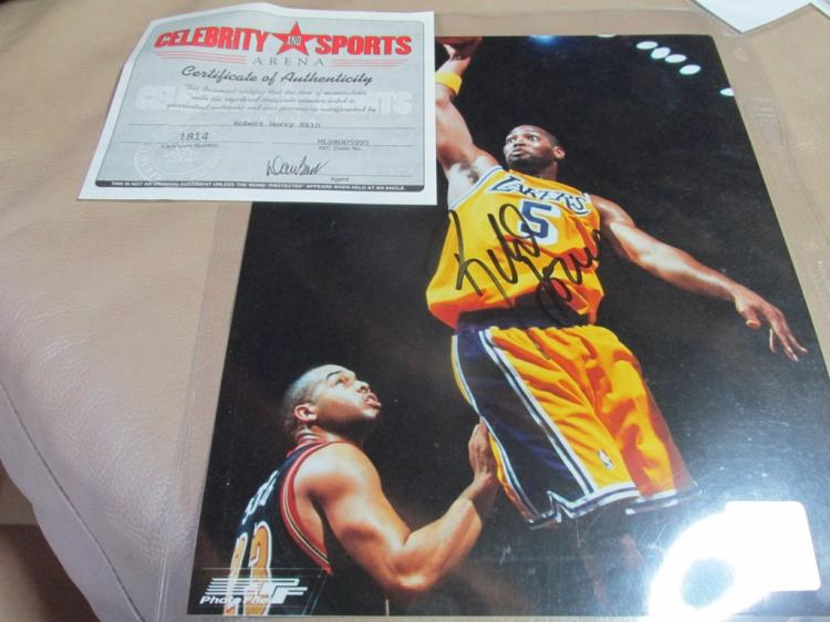 Robert Horry autographed photo