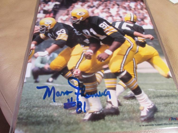 Marv Fleming autographed photo