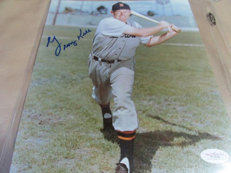 George Kell autographed photo