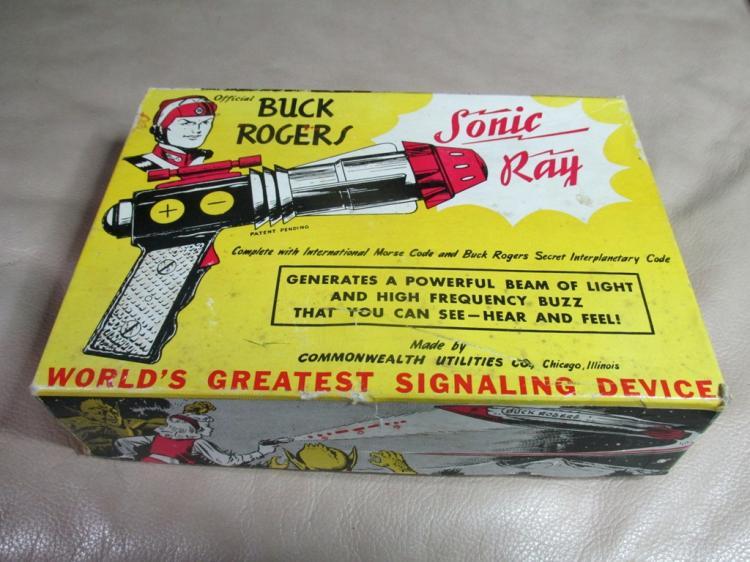 1952 Buck Rogers Sonic Ray Gun