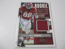 Lot 5: 2017 PANINI FOOTBALL OJ HOWARD PIECE OF GAME USED JERSEY CARD