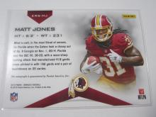 Lot 22: 2015 PANINI FOOTBALL MATT JONES SIGNED AUTOGRAPHED REDSKINS CARD