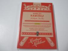 Lot 33: 2019 PANINI BASEBALL HANLEY RAMIREZ DUAL PIECE OF GAME USED DODGERS JERSEY 27/99