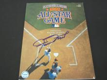 Lot 72: WILLIE MAYS SIGNED AUTOGRAPHED ALL STAR GAME PROGRAM COA