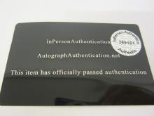 Lot 91: AARON RODGERS SIGNED AUTOGRAPHED PACKERS MINI HELMET COA
