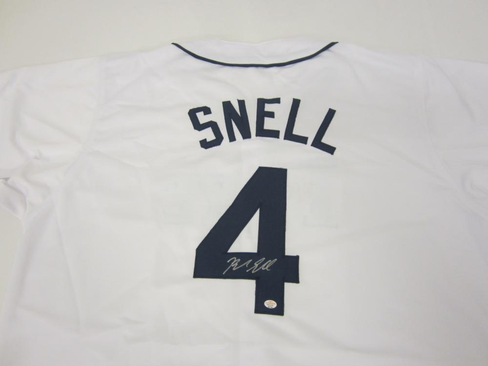 BLAKE SNELL SIGNED AUTOGRAPHED RAYS JERSEY COA