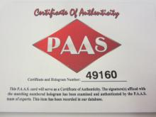 Lot 96: JOHN RIGGINS SIGNED AUTOGRAPHED REDSKINS JERSEY PAAS COA