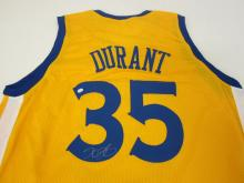 Lot 101: KEVIN DURANT SIGNED AUTOGRAPHED WARRIORS JERSEY PAAS COA