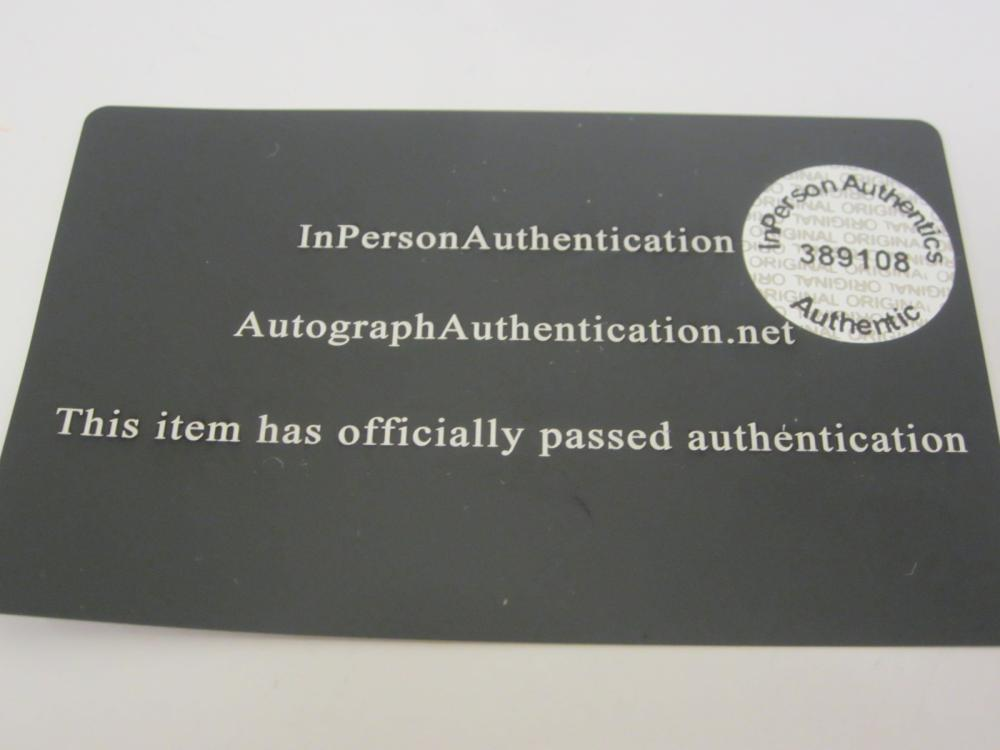 Lot 108: DEREK JETER SIGNED AUTOGRAPHED YANKEES JERSEY COA