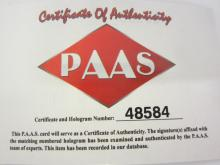 Lot 114: KAWHI LEONARD SIGNED AUTOGRAPHED RAPTORS JERSEY PAAS COA