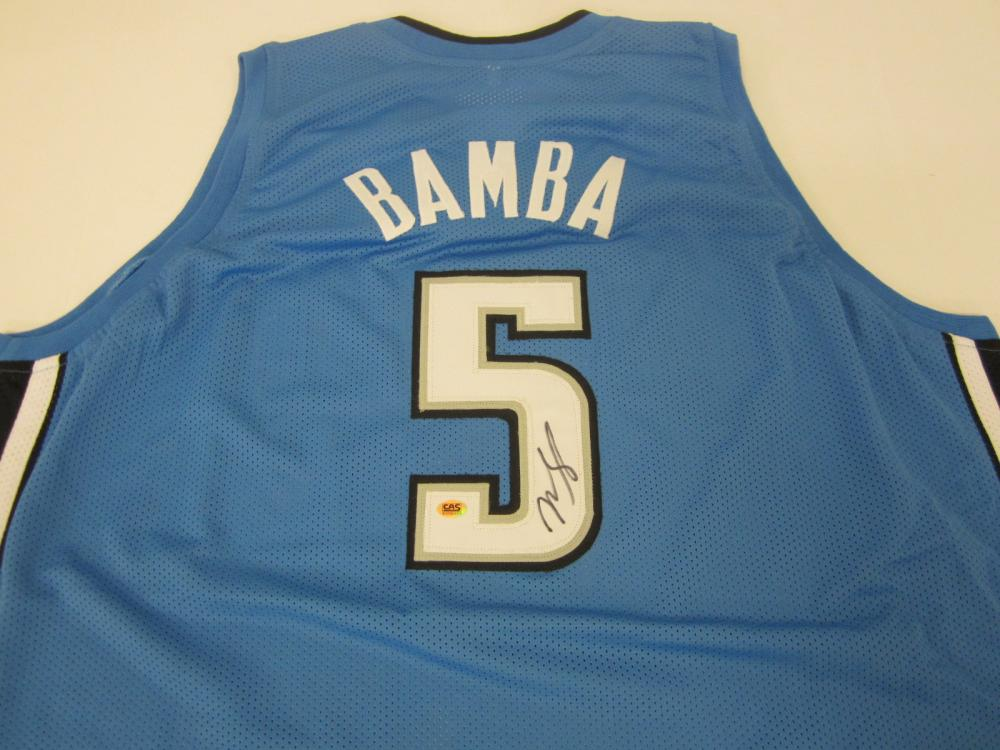 Mohamed Bamba Magic SIGNED AUTOGRAPHED JERSEY CAS COA