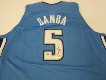 Lot 115: Mohamed Bamba Magic SIGNED AUTOGRAPHED JERSEY CAS COA