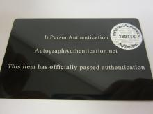 Lot 119: MICHAEL JORDAN SIGNED AUTOGRAPHED BULLS JERSEY COA