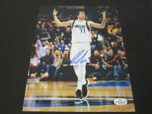 Lot 129: LUKA DONCIC SIGNED AUTOGRAPHED MAVERICKS 8X10 COA