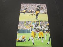 Lot 126: (2)JAMES CONNER SIGNED AUTOGRAPHED STEELERS 8X10 COA