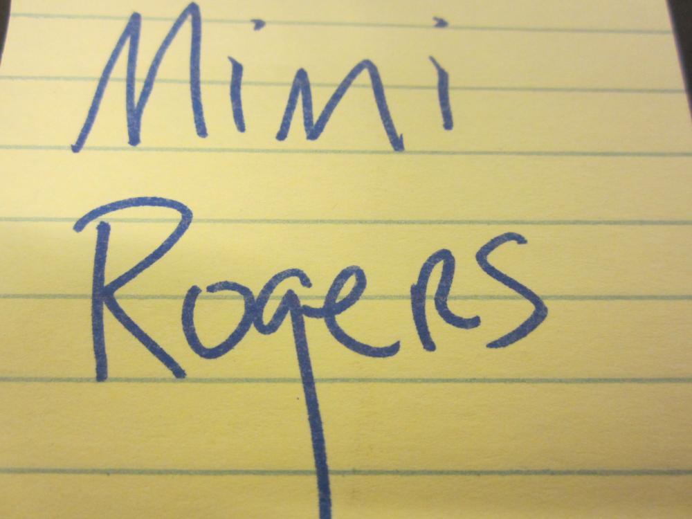 Lot 134: MIMI ROGERS SIGNED AUTOGRAPHED PLAYBOY MAGAZINE COA