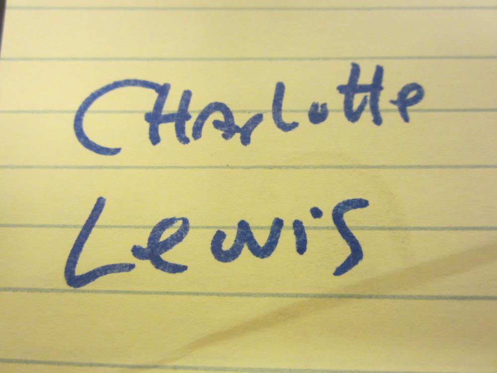 Lot 132: CHARLOTTE LEWIS SIGNED AUTOGRAPHED PLAYBOY MAGAZINE COA