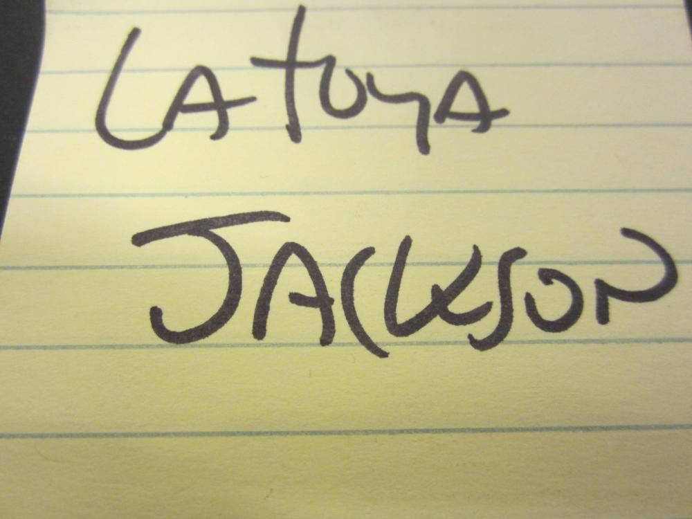 Lot 137: LATOYA JACKSON SIGNED AUTOGRAPHED PLAYBOY MAGAZINE COA
