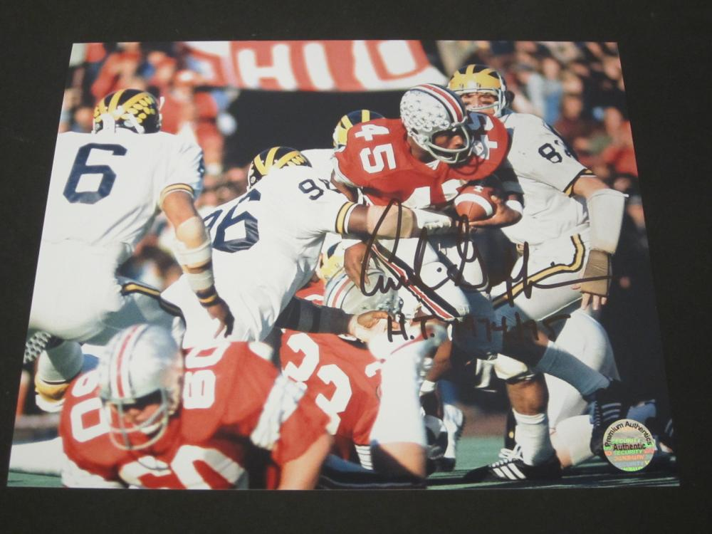 ARCHIE GRIFFIN SIGNED AUTOGRAPHED OHIO STATE 8X10 COA