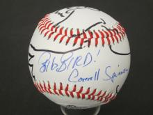 Lot 189: CAROLL SPINNEY SIGNED AUTOGRAPHED BASEBALL W/DRAWING COA