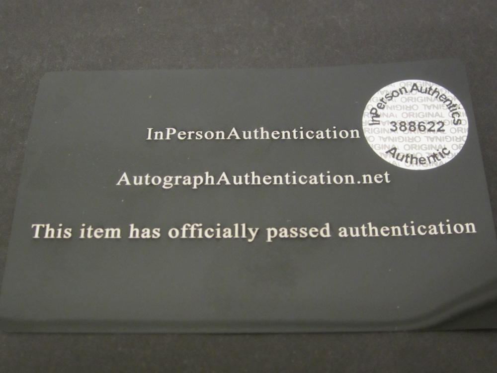 Lot 203: ROGER WATERS SIGNED AUTOGRAPHED 8X10 COA