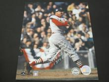 Lot 206: STAN MUSIAL SIGNED AUTOGRAPHED CARDINALS 8X10 COA