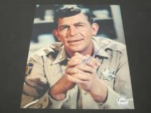 Lot 207: ANDY GRIFFITH SIGNED AUTOGRAPHED 8X10 COA